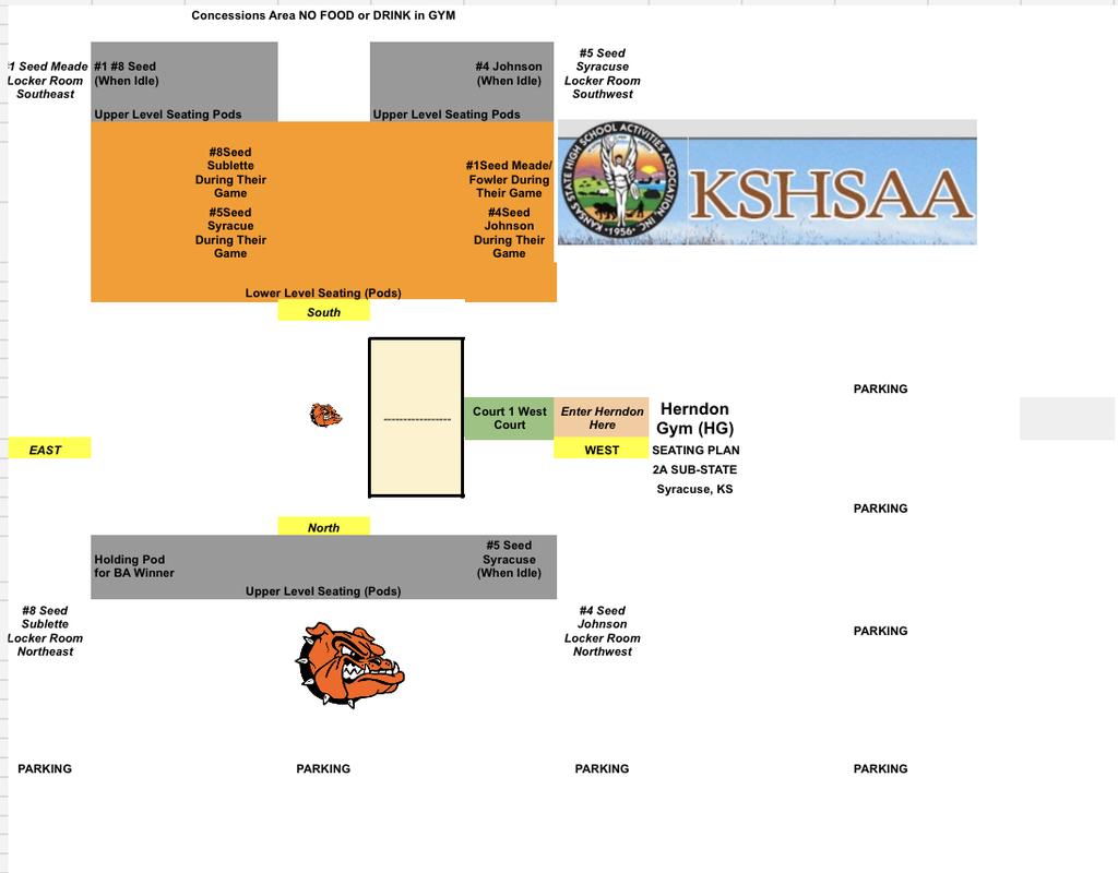 sub-state seating plan
