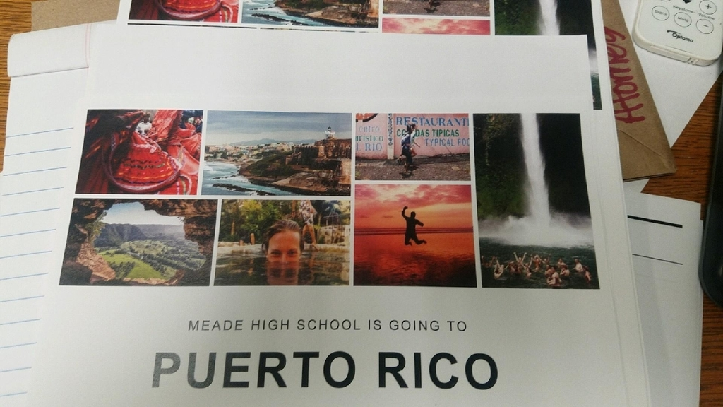 MHS is going to Puerto Rico!