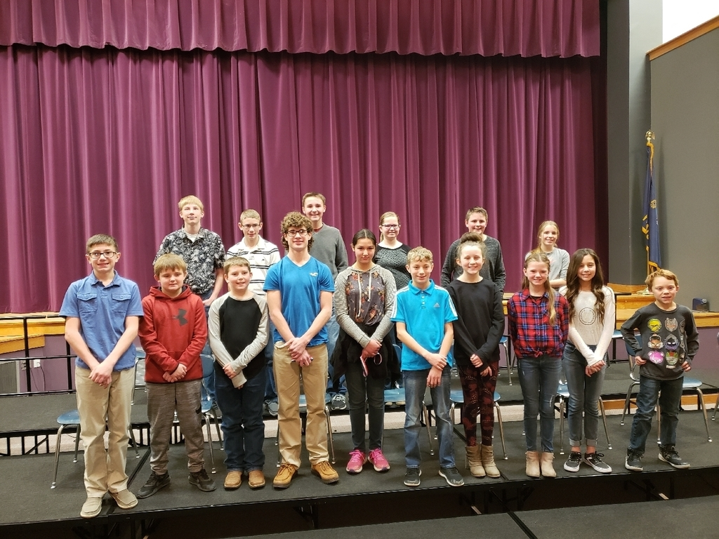2020 Spelling Bee participants