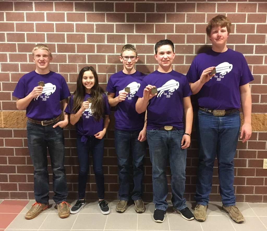MJH Quiz Bowl team